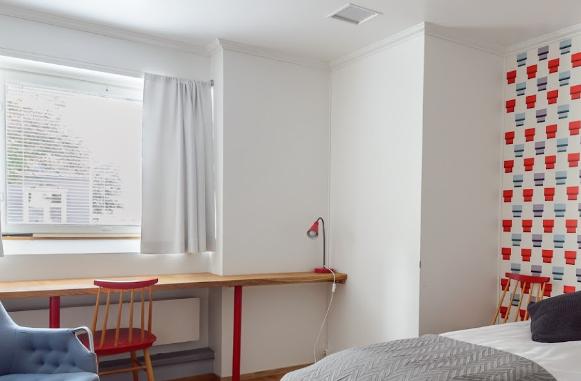 Hotel Bulevardin huoneet ovat yksilöllisiä.